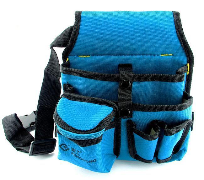 SunRed haute qualité bleu avec noir sac à outils électricien 600D desity NO 104 livraison gratuite dans Armoires à outils de Outils