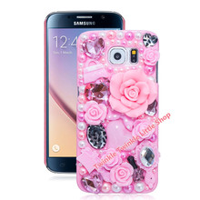 3D Crystal Plastic Case For Samsung Galaxy S7 edge S6 S4 S5 S6 edge S7 Note7