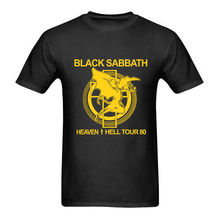 Vintage Black Sabbath Heaven Hell Tour 80 t shirt  USA Reprint