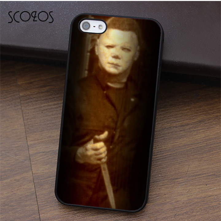 SCOZOS Michael Myer Anti-Scratches fashion phone case cover for iphone X 4 4s 5 5s Se 5C 6 6s 7 8 6&6s plus 7 plus 8 plus #ca313