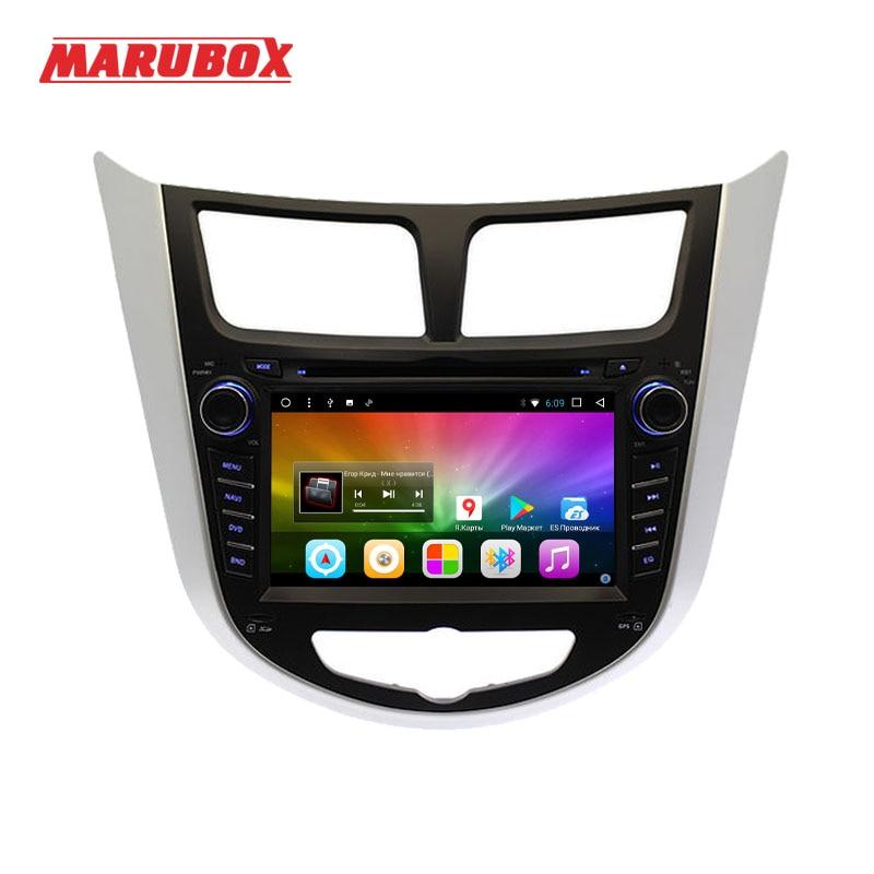 Marubox Head Unit For HYUNDAI Solaris 2012 2016 Verna 2 Din Car Radio Android 8 1