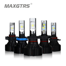 2x H4 H7 H11 H8 9005/HB3 9006/HB4 9012 HIR2 H16 EU Auto LED Koplamp Lamp CREE chip XHP50 Auto Koplamp LED Licht 6000 k