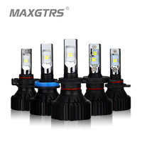 2x H4 H7 H11 H8 9005 HB3 9006 HB4 9012 H16 Car LED Headlight Bulb CREE