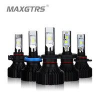 2x H4 H7 H11 H8 9005 HB3 9006 HB4 9012 H16 Car LED Headlight Bulb CREE