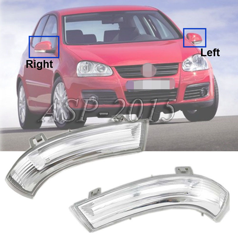 2016 Newest Mirror Indicator Turn Signal Light Lamp Two Sides For Vw