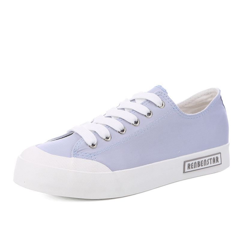 Black Marche Plates Blue Sneakers De Occasionnels light Mode Toile Respirant Chaussures Dentelle yellow up Femmes Dames 2018 qf1AxwfOB