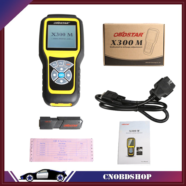 OBDSTAR X300M OBDII Odometer Correction X300 M Mileage Adjust Diagnose Tool  Update By TF Card