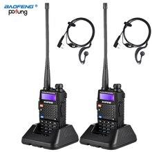 2 個 Baofeng UV 5RC トランシーバーデュアルダブルバンドハム VHF UHF ラジオ局トランシーバ Boafeng Communicator トランシーバー PTT