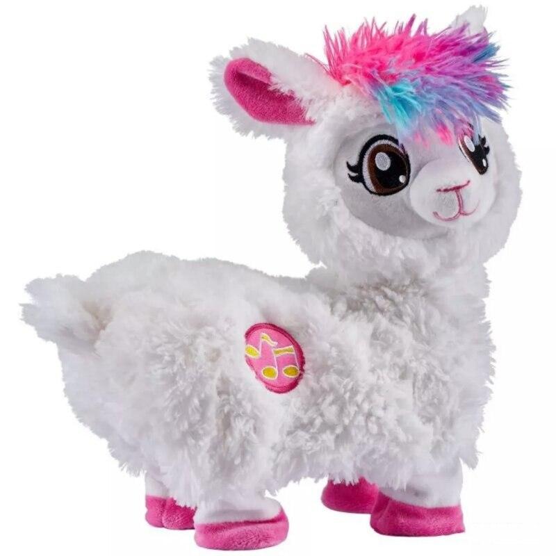 Dropshipping NEW Alpaca Plush Toy Booty Break  Shaking Llama Alpacasso For Children Pets