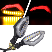 LED Motorcycle Turn Signal Lights 12V Indicator Moto Clignotant Blinker DRL Lamp FOR MV Agusta 750 800 910 920 989 1078 1090RR S