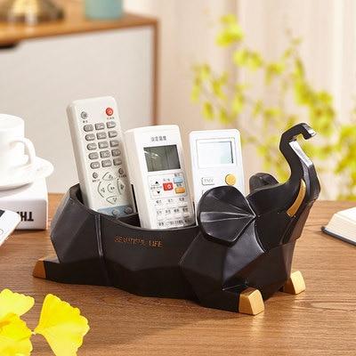 Нордическая Смола слон коробка для салфеток ретро гостиная многофункциональный ящик для хранения пультов дистанционного управления домашнее бумажное полотенце домашний декор - Цвет: I