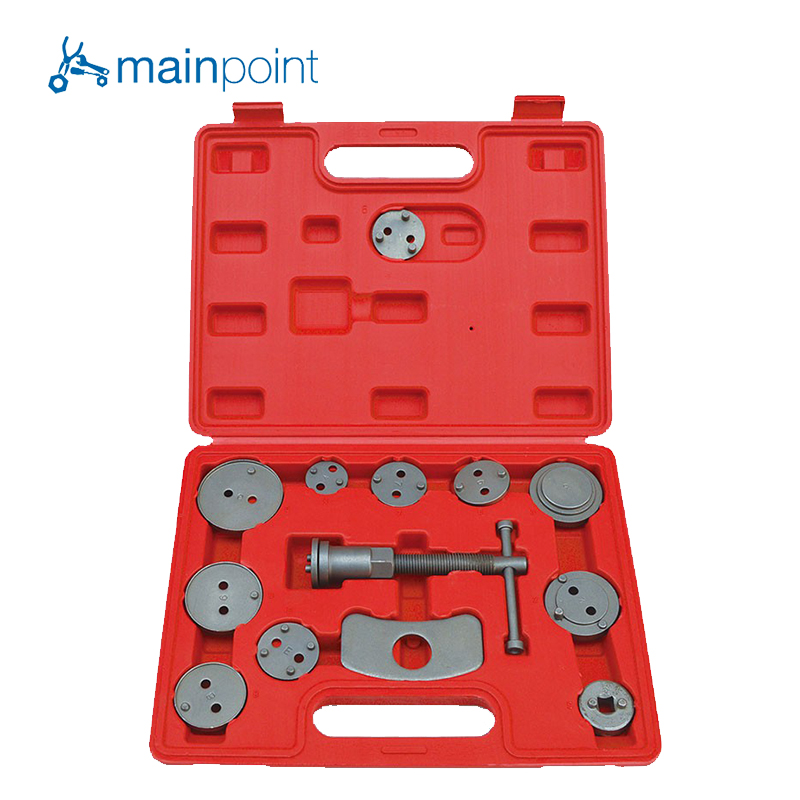 цена на Mainpoint 13Pcs Special Butterfly Brake Branch Pump Adjust Disassemble Tool For Car Repair