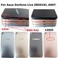 100% оригинальная новинка для Asus Zenfone Live ZB501KL A007 задняя дверь корпус батарейный отсек с боковым ключом