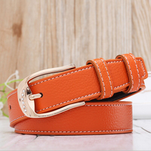 2016 Hot Women multicolor  belt woman fashion belts buckle waistband Casual female dress accessories cowskin cintos feminin