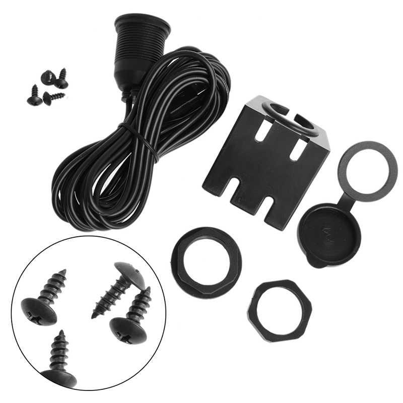 1 м/2 м автомобильный держатель приборной панели 3,5 мм USB 2,0 Штепсель AUX удлинитель свинцовой панели кабеля