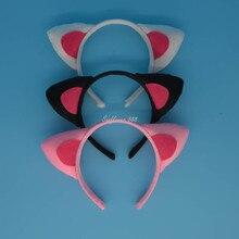 Animal Cat Ear Headband Halloween Party Fancy Dress Decor