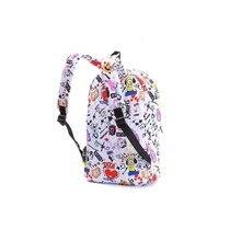 BTS BT21 Graffiti Canvas Backpack