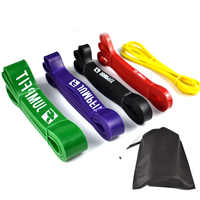 Natural Latex Athletic Rubber Resistance Bands set Gym Expander Crossfit Power Lifting Pull Up Strengthen Muscle