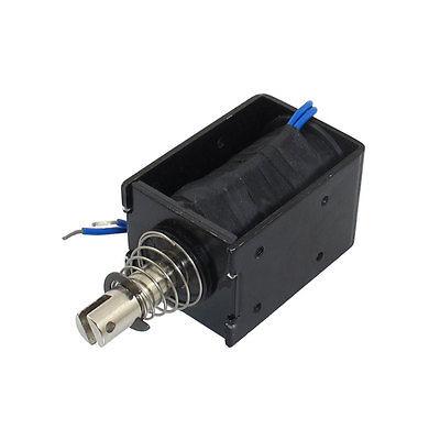 8Kg Holding Force DC 24V 10A Open Frame Solenoid Electromagnet dc 24v 1 25a open frame electric solenoid electromagnet