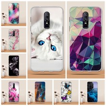 For One Plus 6 OnePlus 6 1+6 Case Cover Clear TPU Soft fundas For One Plus 6 Case Silicone Coque Capa for One Plus 6 Case Cover(China)