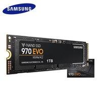 SAMSUNG SSD 970 EVO M.2 2280 NVMe 1 ТБ 500 Гб 250 Внутренний твердотельный жесткий диск HDD M2 для ноутбука, настольного компьютера, ПК, PCIe