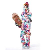 GSOU зимний женский костюм куртка и брюки, горнолыжный костюм женский,горнолыжные костюмы женские,Женщины Лыжный куртка,лыжные костюмы,лыжны