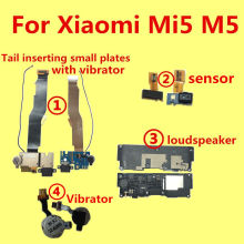 For Xiaomi Mi5 M5 speaker or loudspeaker Vibrator Tail inserting small plates