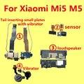 Para xiaomi mi5 m5 orador ou altifalante ou vibrador ou cauda inserir pequenas placas