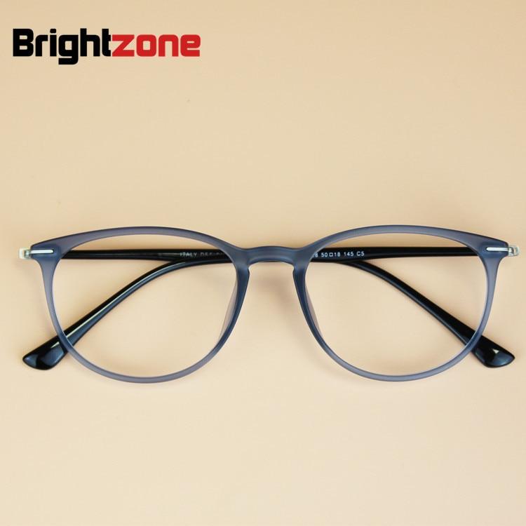 Corea del Sur marca mujeres ronda vintage ultem acero al carbono Marcos  hombres empollón miopía tungsteno anteojos ópticos prescripción gafas abc5a87454