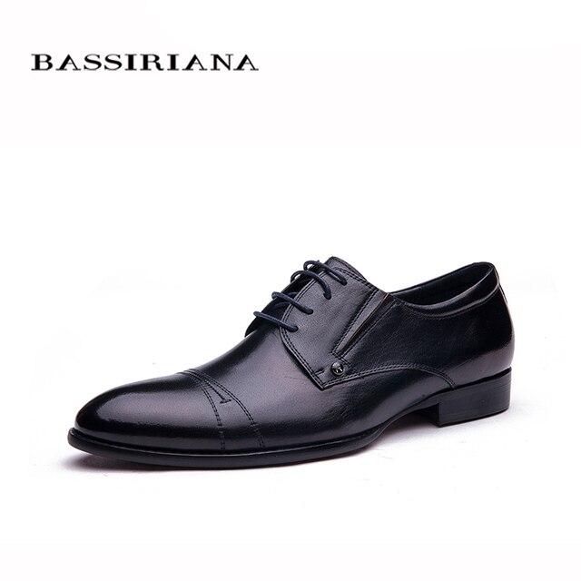 Bassiriana/модные Стиль мягкой обуви Мужская обувь Высококачественная брендовая одежда Пояса из натуральной кожи Обувь Для мужчин 39-45