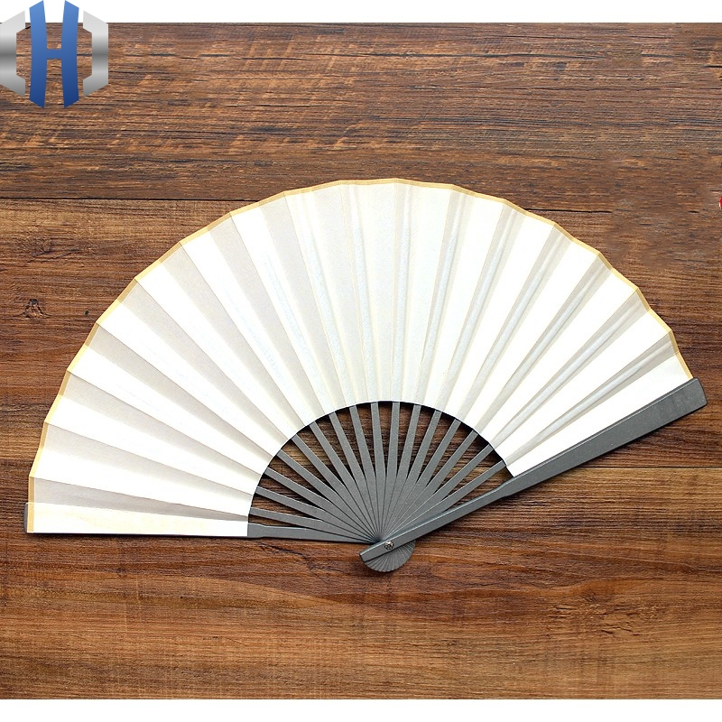 Titanium Alloy Folding Fan 7 Inch Mini Model EDC Tactical Attack Self-defense Fan