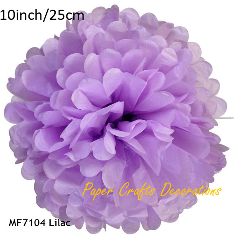 10inch25cm 15pcslot lilac hanging paper flower decorations pom pom 10inch25cm 15pcslot lilac hanging paper flower decorations pom pom ball wedding party birthday holiday decor mightylinksfo