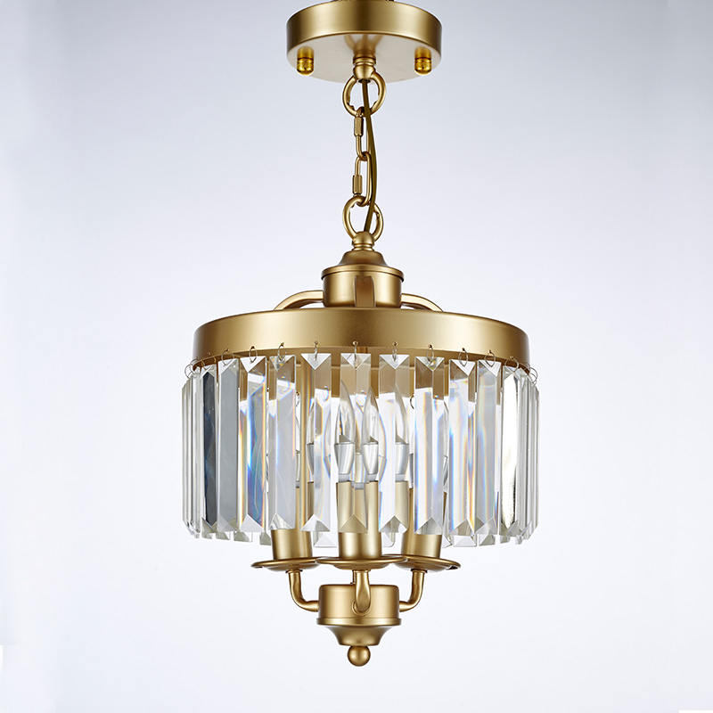 American Restaurant Small Chandelier Hallway Entrance Porch Light Balcony Bar Retro Wrought Iron Bedroom Led Crystal In Pendant Lights From