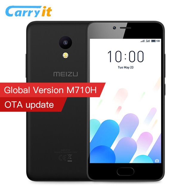 "Original MEIZU M5C Global Version M710H 2GB 16/32 GB Cell phone MTK6737 Quad Core 64Bit CPU 5.0"" HD IPS 3000mAh 4G LTE"