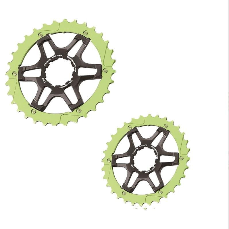 все цены на FOURIERS 32/36T Road bike Cassette Fit for SHIMAN0 11 speed 11-28/32T Cassette sprocket (CS-5800/6800/9000) bicycle freewheel онлайн