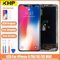 Original LCD For iPhone X Xs Max XR LCD Display For Tianma OEM Touch Screen LCDS With Digitizer Replacement Assembly Parts