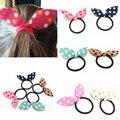 Women Girls Hair Accessories Scrunchy Elastic Hair Bands Rabbit Ears Hairband Girls Cute Hair Band