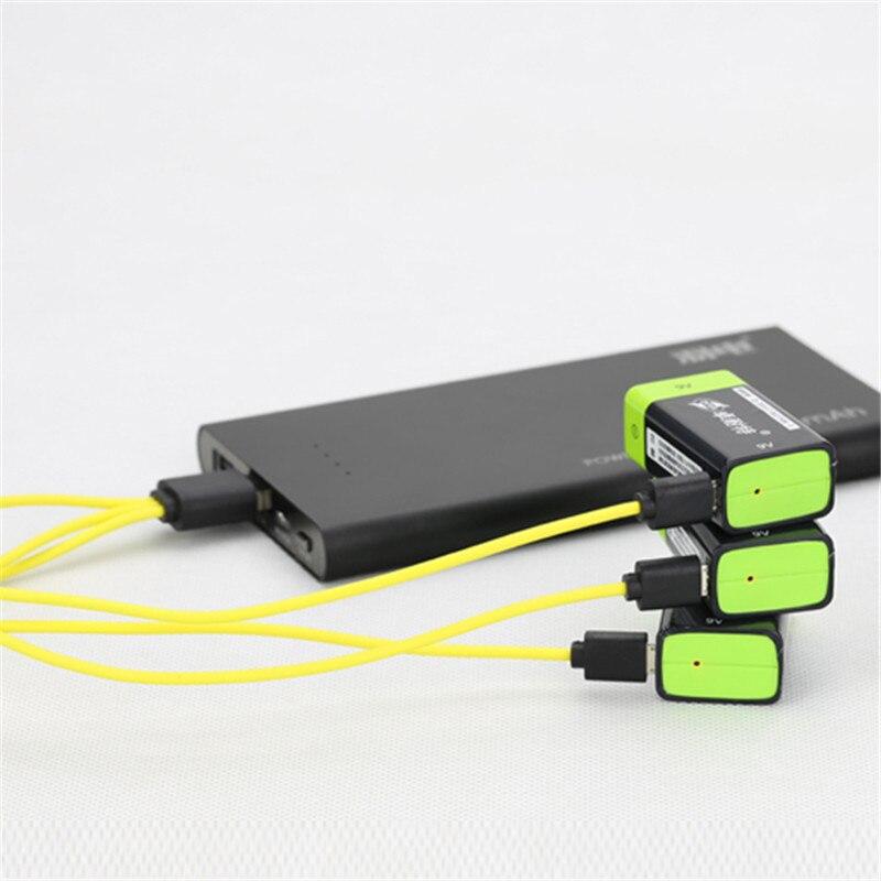 RC Batterie ZNTER S19 9 V 400 mAh USB Rechargeable 9 V Lipo Batterie RC Batterie Pour RC Caméra Drone accessoires RC pièces
