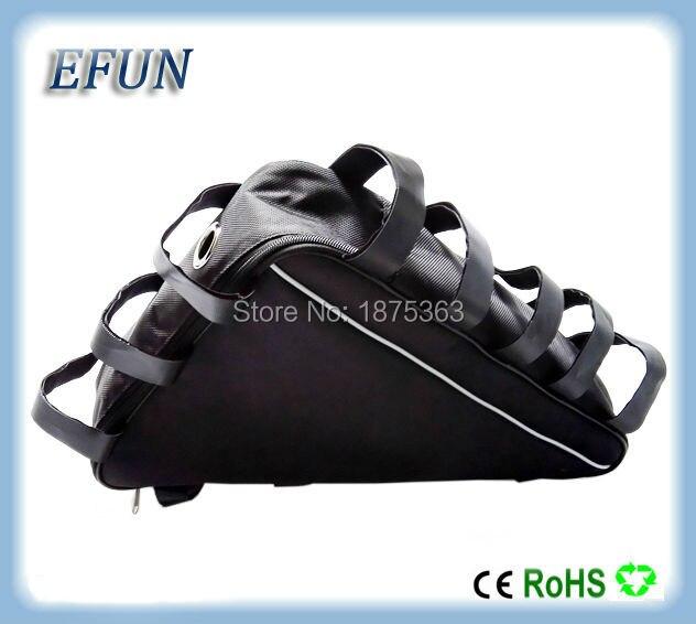 Triangle bag for fat tire bike mountain bike SORDER Ebike compitable 48V 30Ah 52V 30Ah triangle battery