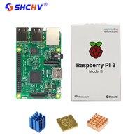 Original Raspberry Pi 3 BCM2837 1G 64 Bit Quad Core ARM RPI 3 Board CPU Heat