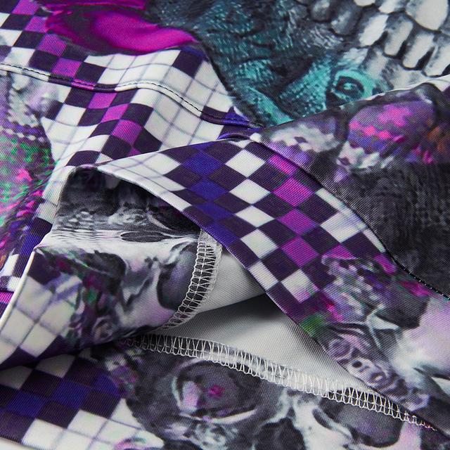 3D SKULL HOODIE DRESS (7 VARIAN)