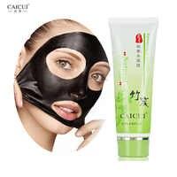 CAICUI Bamboo Charcoal Remover Blackhead Face Mask Skin Care Peeling Mask Acne Treatment Mask Face Care Black Head Mask 80g