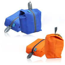 4 Colors Outdoor Waterproof Clothes Sports Bags Portable Travel Kits Zipper Storage Pouch Shoes Camping