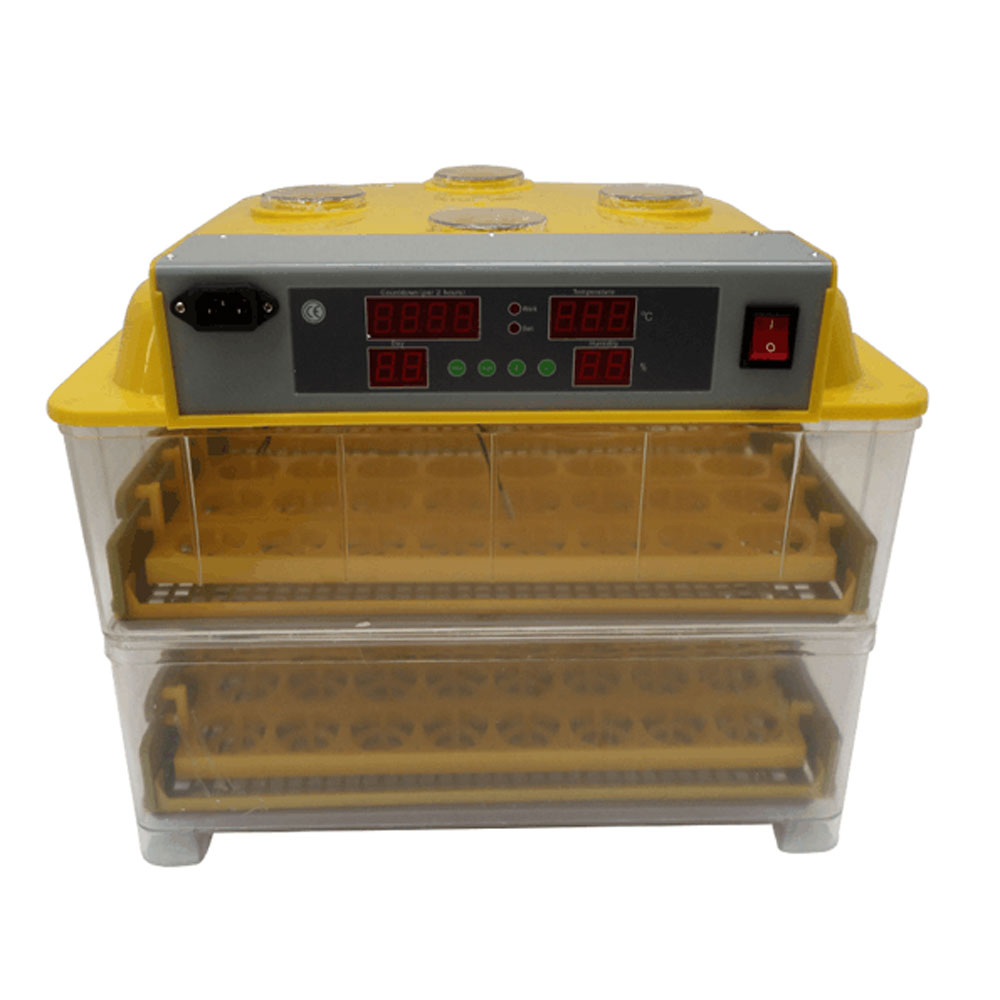 Digital LED Automatic Egg Incubator Brooder Hatcher for Hatching 96 Poultry Eggs Chicken Duck Quail Parrot Turkey Eggs fully automatical turning 48 eggs incubator poultry chicken duck egg hatching hatcher new modle transparent bottom