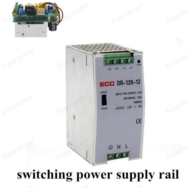 AC/DC 12 V 120 W de salida dual de la fuente de alimentación de la unidad de tren de convertidor dc ac regulador de voltaje de corriente continua variable Transformadores de iluminación