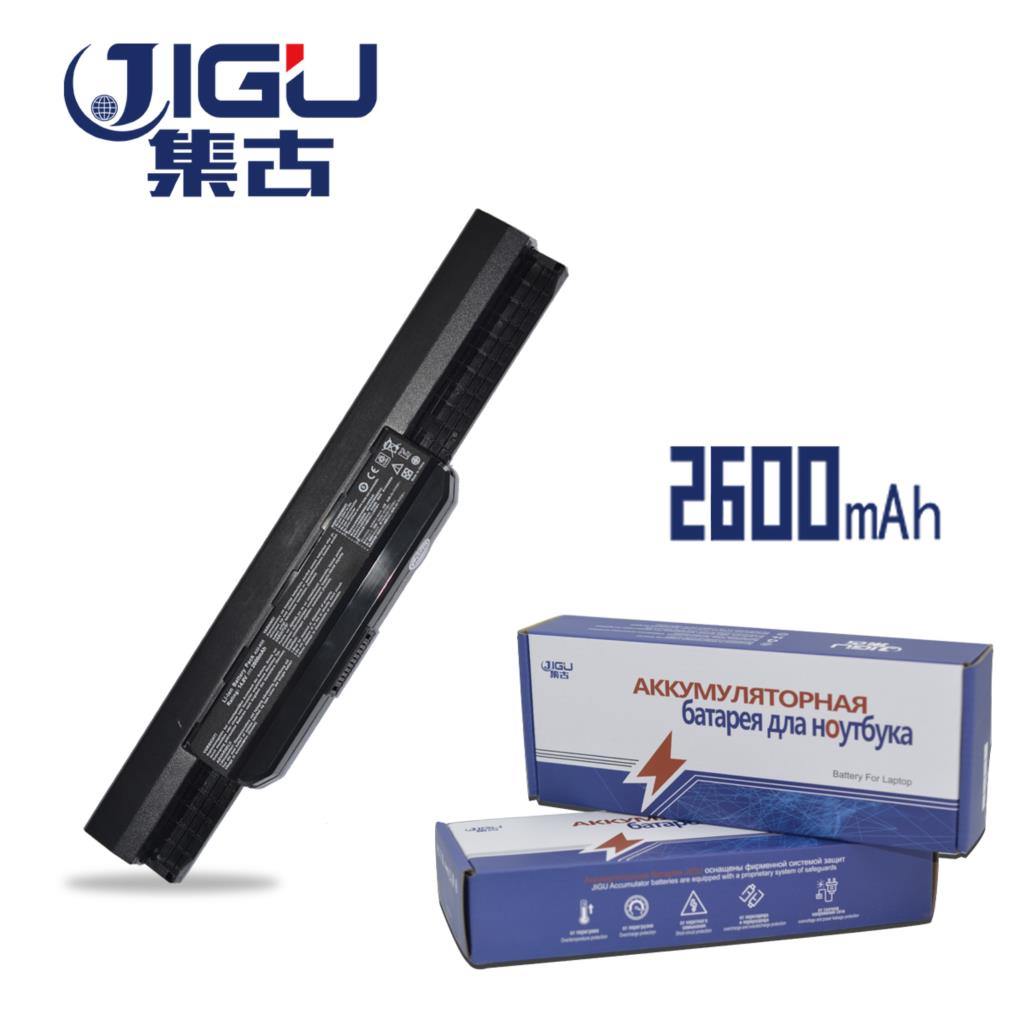 JIGU Laptop Battery For ASUS K53BY X54LY PRO5P K53B P43SL K53F X54HR P53JC K84HR X43 K54C X84L P53SJ X43B SERIES X54XB815HR