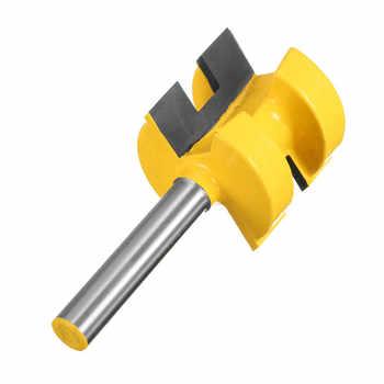 """2Pcs/Set 1/4 Inch Shank Tongue Groove Router Bit +1/4\"""" Shank Groove router bit Wood Woodworking Cutting Tools"""