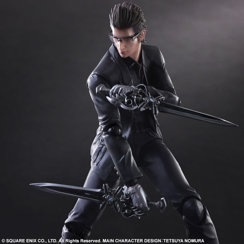 2018 PLAY ARTS 27cm <font><b>Final</b></font> <font><b>Fantasy</b></font> <font><b>XV</b></font> Ignis Scientia Action <font><b>Figure</b></font> Model Toys image