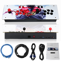 800 IN 1 Box 4s Retro Video Games Arcade Console LED HD 2 Joystick AU Iron Acrylic Panel VGA HDMI USB Coin Operated Games