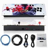 800 IN 1 Box 4s Retro Video Games Arcade Console LED HD 2 Joystick AU Iron Acrylic Panel VGA HDMI USB Coin Operated Games
